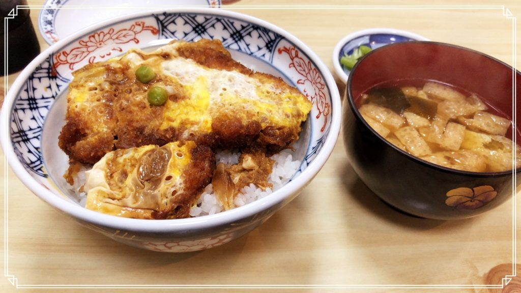 煮込みソースカツ丼